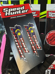 SPEED HUNTER - MALAYSIA  STICKER 2 PAIR