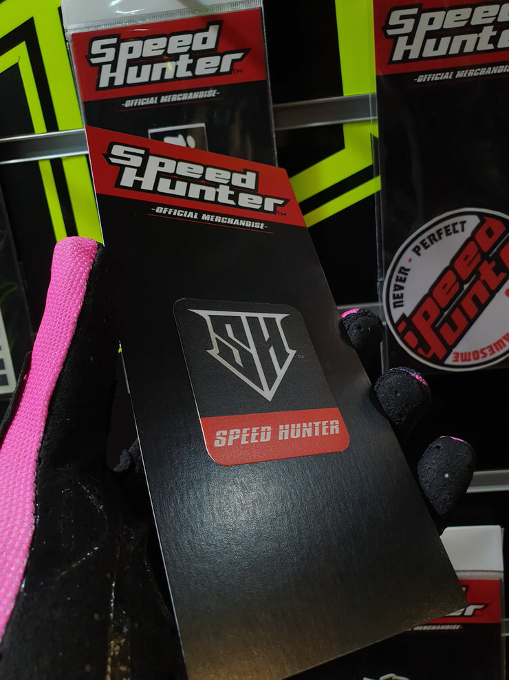 SPEED HUNTER -SH LOGO - BLACK