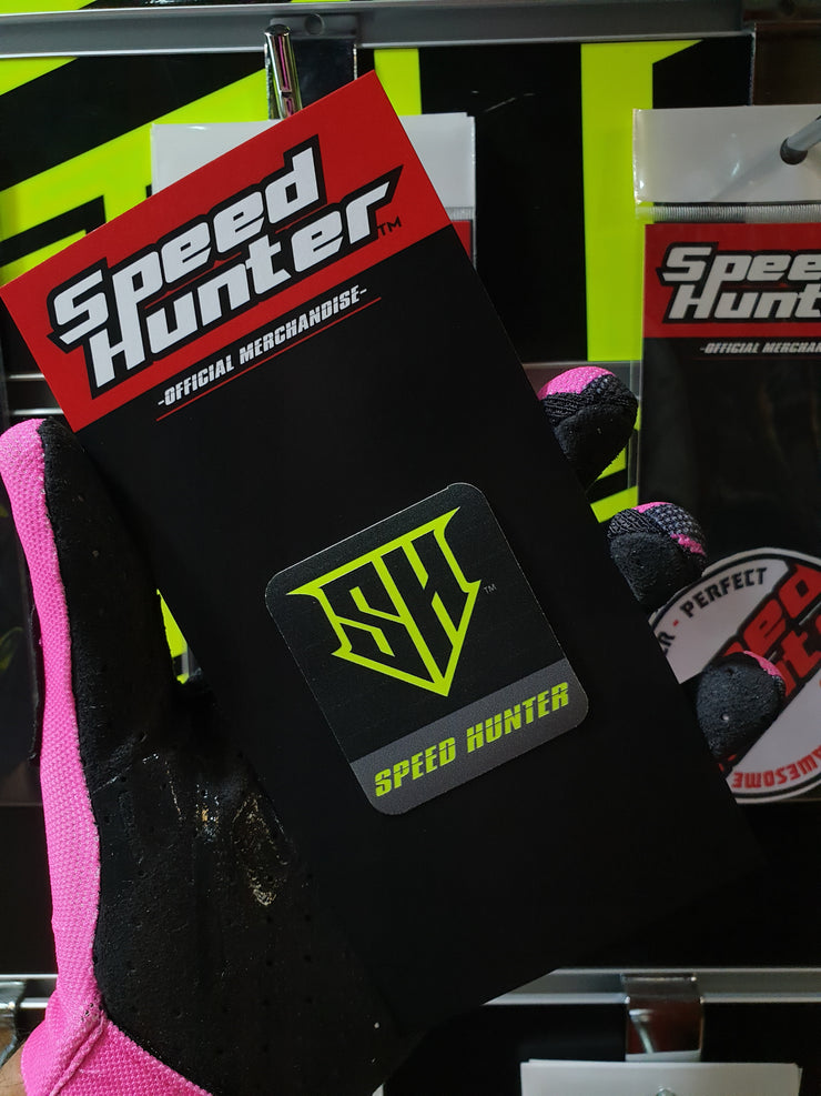 - SPEED HUNTER -SH LOGO - NEON YELLOW