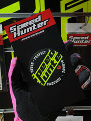 SPEED HUNTER - AWESOME NEON YELLOW STICKER