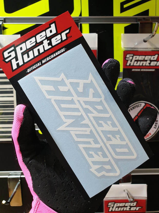 SPEED HUNTER - LIGHTNING WHITE - DIE-CUT