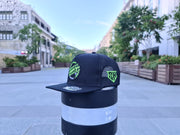 (WITH ENAMAL PIN ) SPEED HUNTER NURBURGRING SNAPBACK NEON CAP