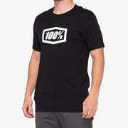 100%-ESSENTIAL T-Shirt - Black