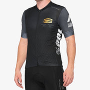 100% - EXCEEDA Jersey Black/Charcoal Lycra Kits