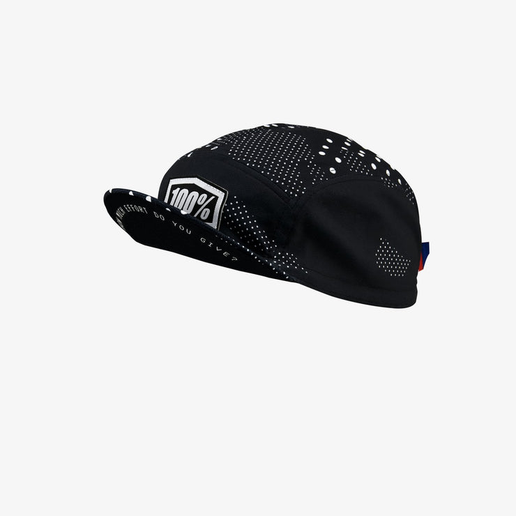100% - EXCEEDA Road Cap Black