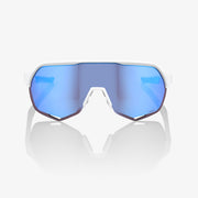 S2® Matte White HiPER® Blue Multilayer Mirror Lens + Clear Lens Included