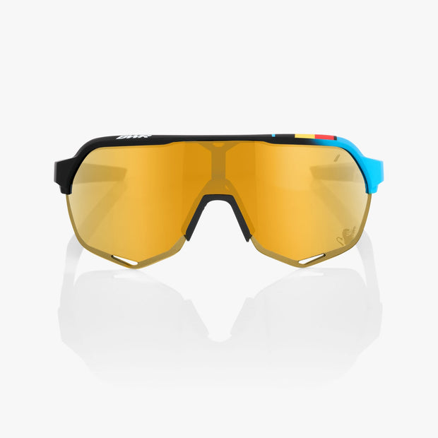 S2® BWR Black Soft Gold Mirror Lens + Clear Lens Included