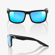 BLAKE Matte Black HiPER® Blue Multilayer Mirror Lens