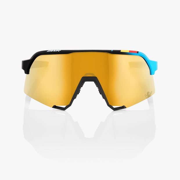 S3® BWR Black Soft Gold Mirror Lens + Clear Lens Included