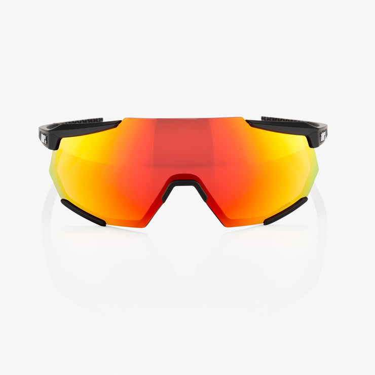 RACETRAP® Soft Tact Black HiPER® Red Multilayer Mirror Lens + Clear Lens Included