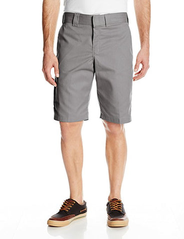 DICKIES 850 SLIM/REGULAR FIT TWILL SHORT - GREY - Speed Hunter SG