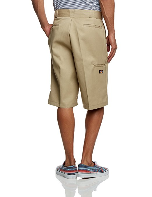 DICKIES LOOSE FIT 13 INCH SHORT - KHAKI - Speed Hunter SG