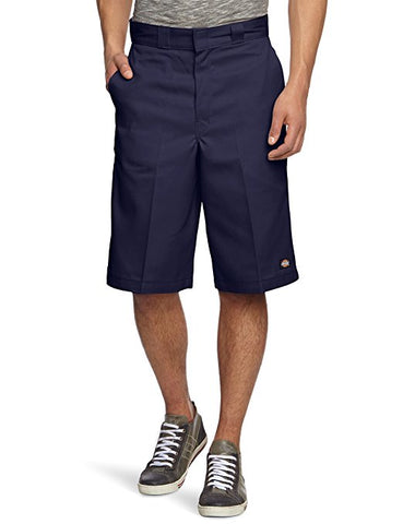 "Dickies LOOSE Fit  13""Multi-Pocket Work Short-Dark Navy"