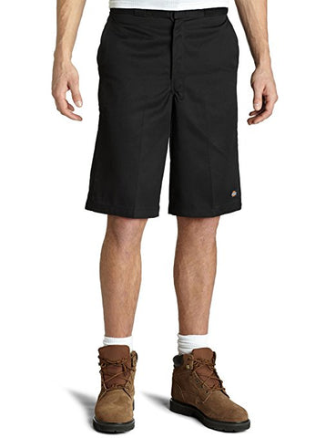"Dickies LOOSE Fit  13""Multi-Pocket Work Short-Black"