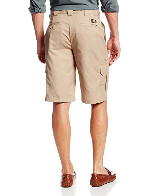 DICKIES 556 11 INCH REGULAR FIT CARGO SHORT - KHAKI - Speed Hunter SG