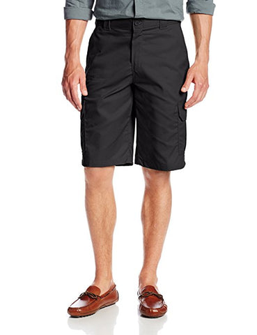Dickies 556 11 Inch Regular Fit Stretch Twill Cargo Short-Black