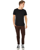 DICKIES 872 SLIM FIT - DARK BROWN - Speed Hunter SG