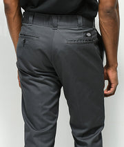 DICKIES 873 DOUBLE KNEE -SLIM STRAIGHT - DARK GREY