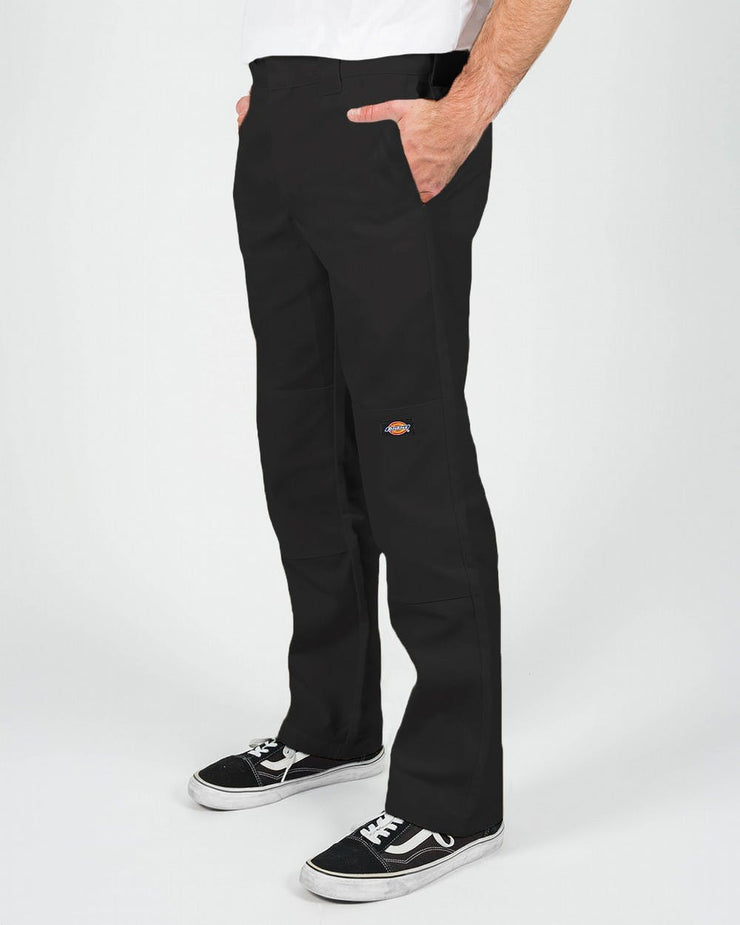 DICKIES 873 DOUBLE KNEE -SLIM STRAIGHT - BLACK