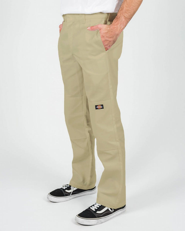 DICKIES 873 DOUBLE KNEE -SLIM STRAIGHT - KHAKI