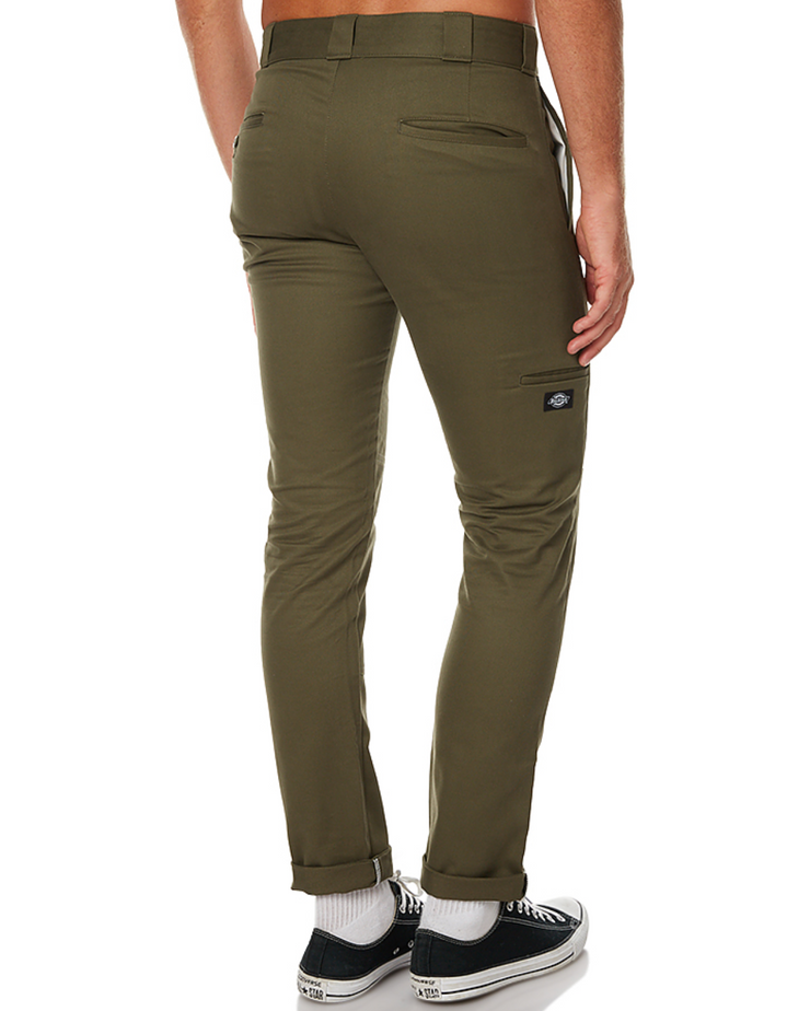 DICKIES 811 - SKINNY DOUBLE KNEE - OLIVE GREEN - Speed Hunter SG