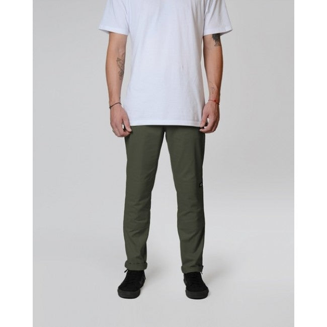 DICKIES 918 SLIM FIT DOUBLE KNEE - OLIVE - Speed Hunter SG