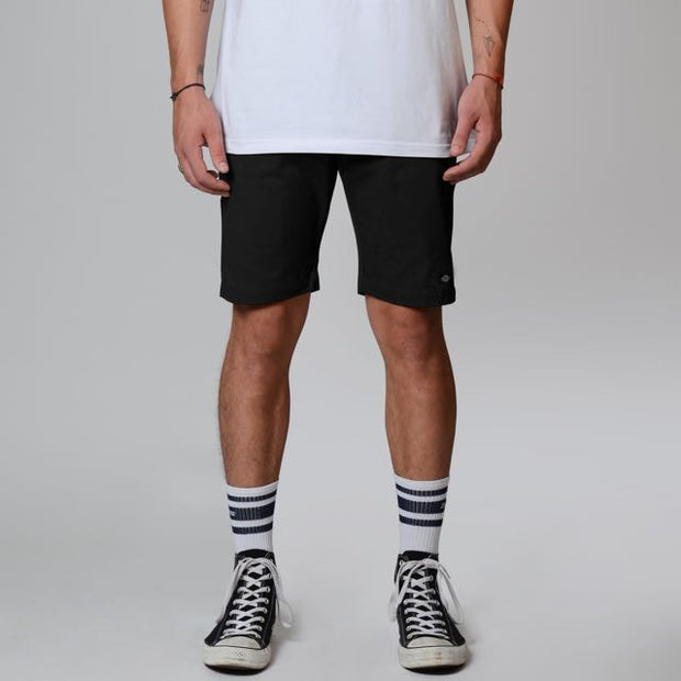 DICKIES SKINNY FIT TWILL SHORT - BLACK - Speed Hunter SG