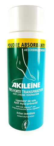Perspiration Reducing Deodorizing Absorbing Foot Powder - Akileïne®