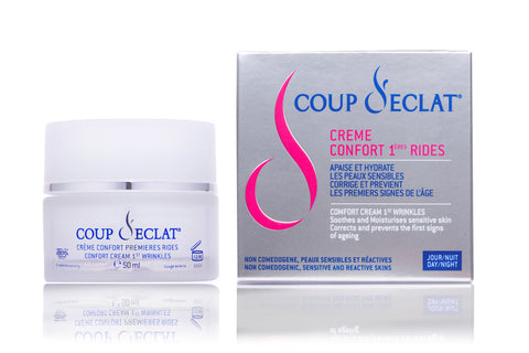 Face Comfort Cream 1st Wrinkles - Coup d'Eclat