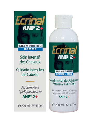 Hair Men's Shampoo w/ANP2+® - Ecrinal®