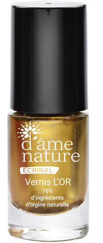 Nail Color organic Gold -  D'Âme Nature®