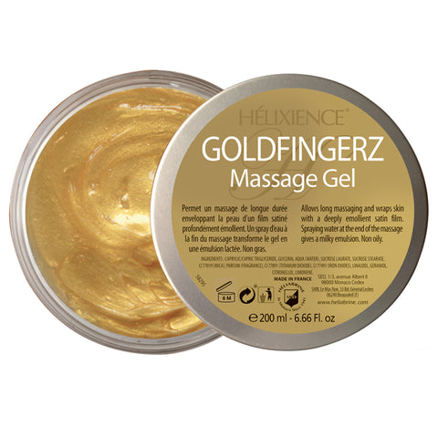 Goldfingerz Massage Gel - Face & Body - HELIABRINE® - Helixience