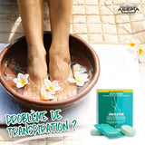 Deodorizing - Effervescent Footbath Tablets - AKILEÏNE