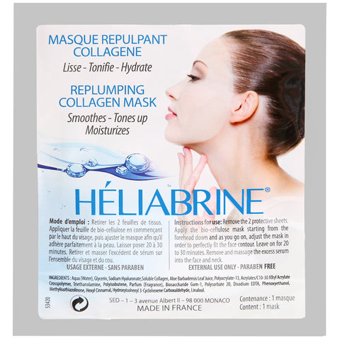 Mask Face Re-Plumping Collagen Mask Treatment - Heliabrine