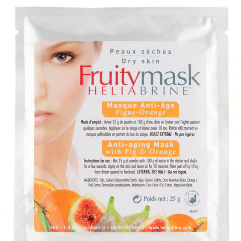 Anti-Aging Powder Mask with Fig & Orange  - HELIABRINE®