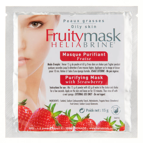 Mask Face Purifying Powder Mask Strawberry - Heliabrine