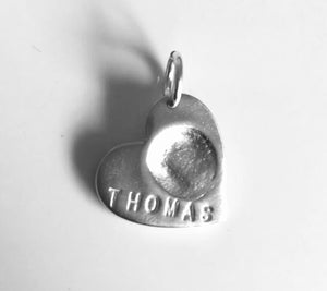 Small fingerprint charms prices starting from....