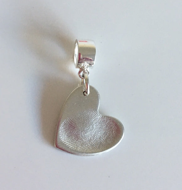 Extra small fingerprint charms prices starting from....