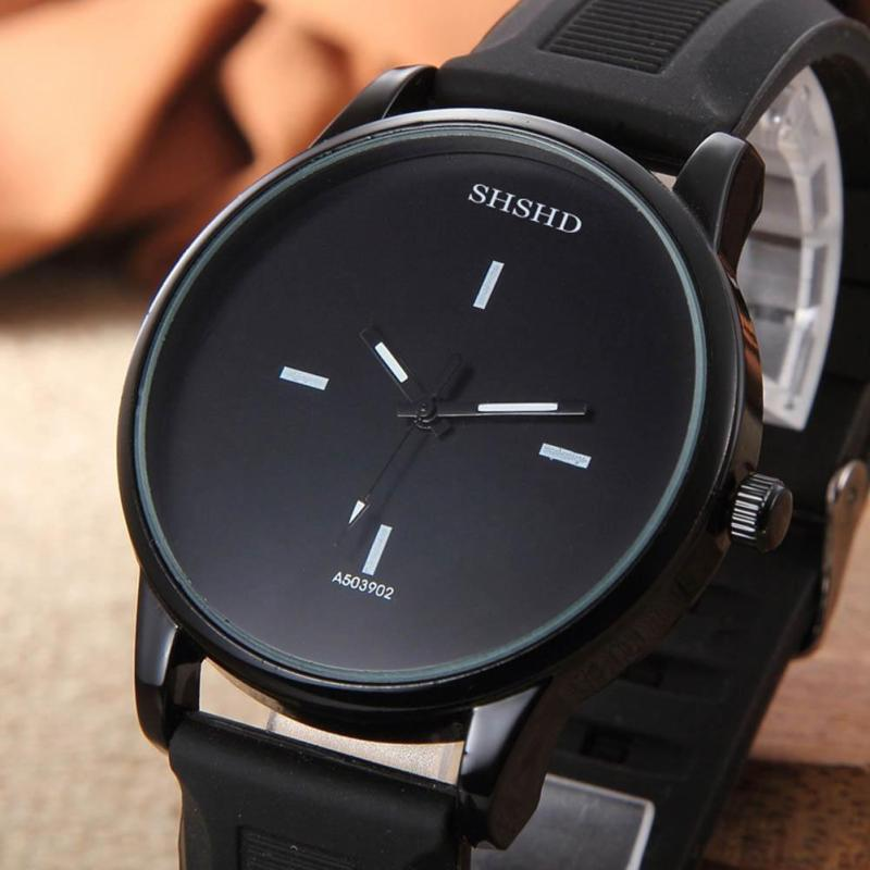 round male watch shshd genuine non men sub decorative p leather s quartz pp watches functining dial watchband