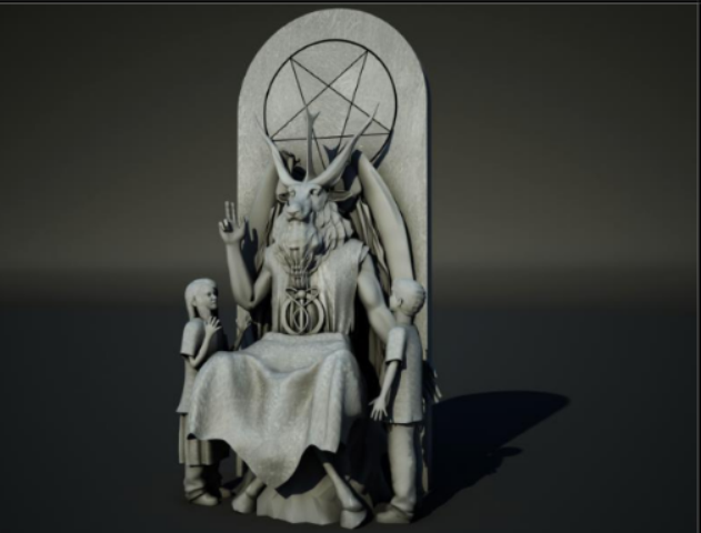 Sit With Satan on the Devil's Chair