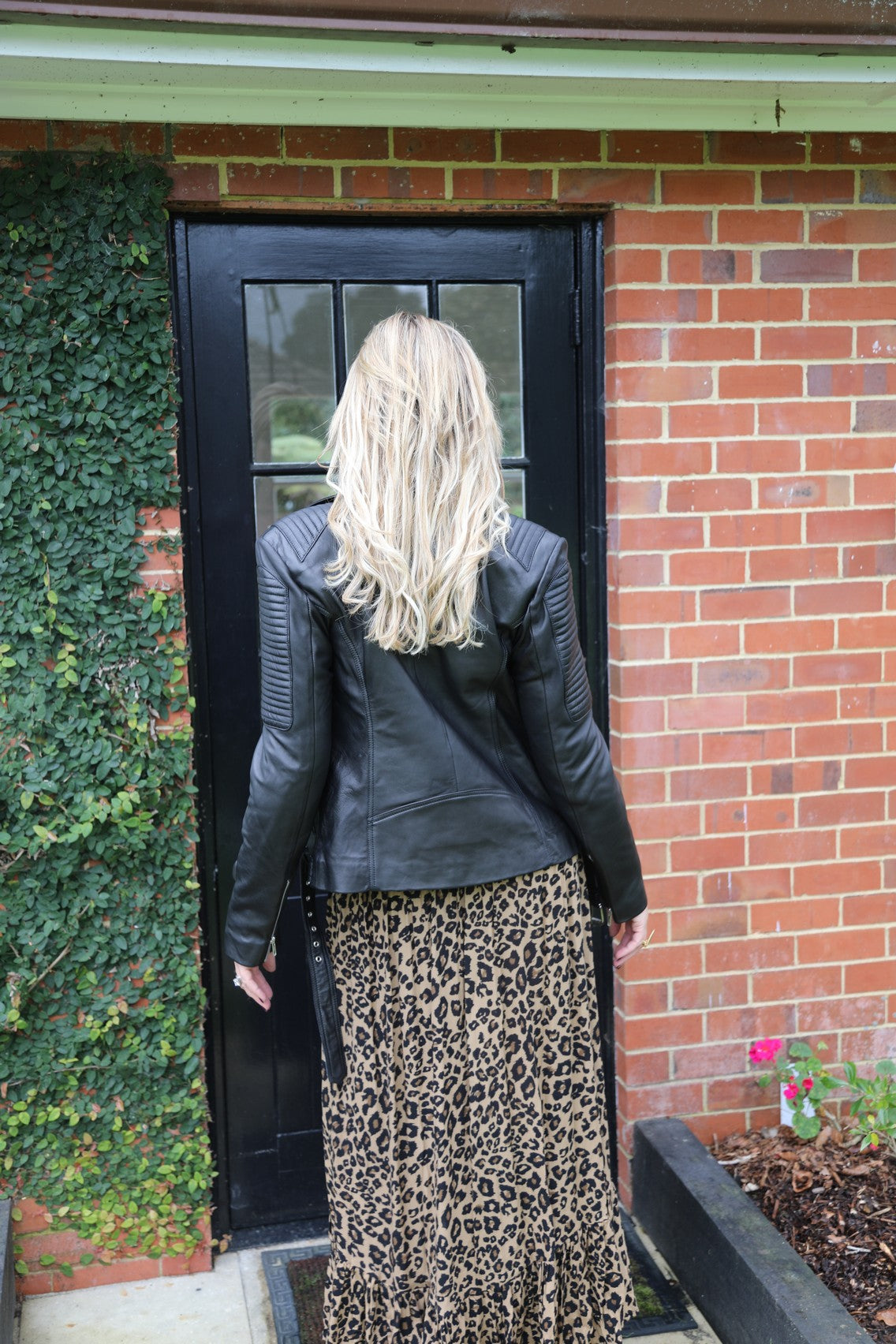 Float my Boat Skirt - Dark Leopard
