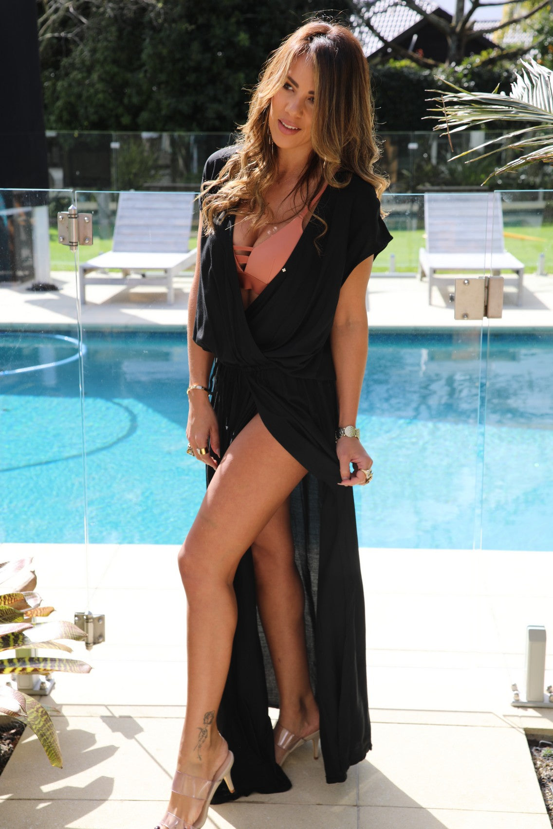 Capri Dress - Black
