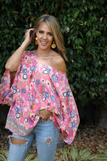 Over it Top/Dress - Prettiest Pink Floral