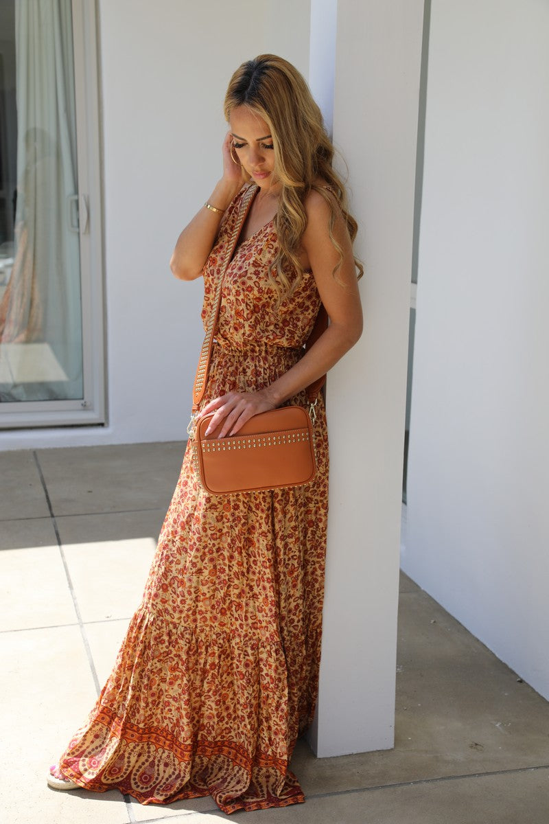 Shoestring Sandy Maxi Dress - Summer Boho Beauty