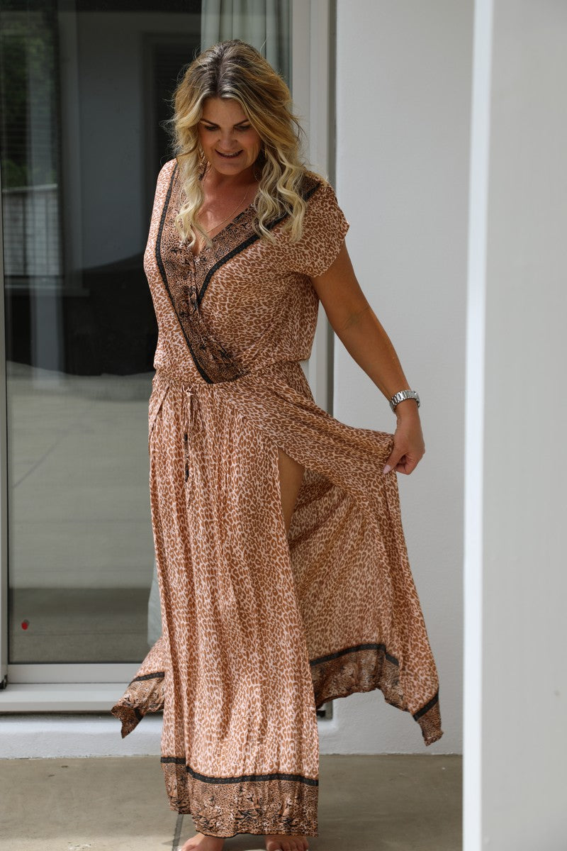 Capri Dress - Glam Leopard