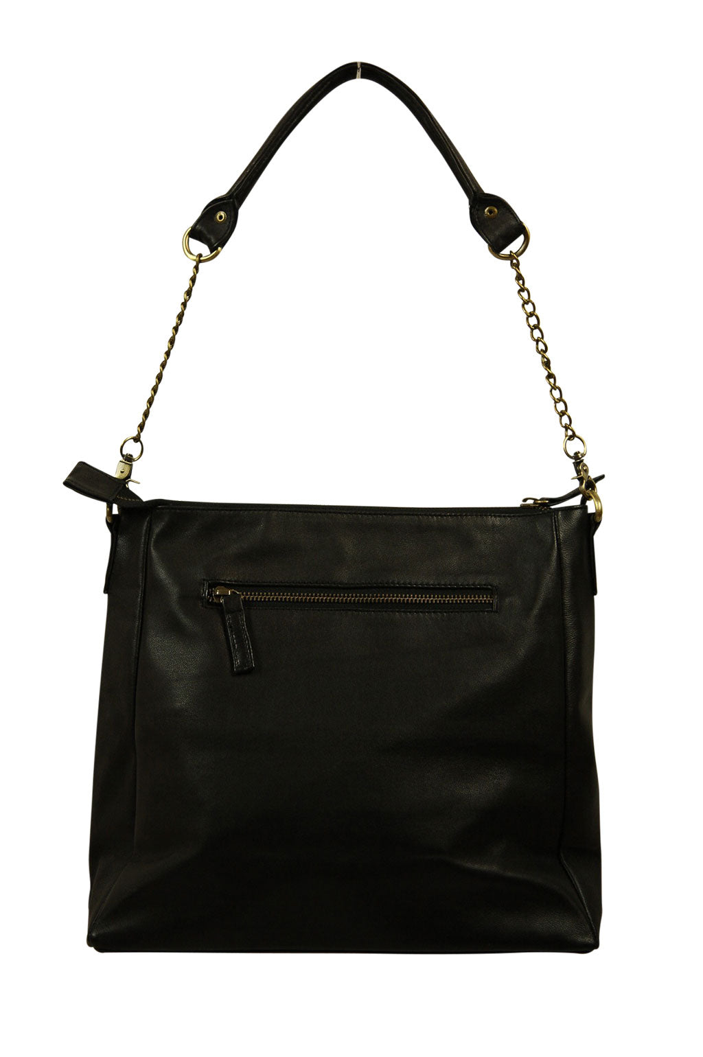 Ava Black Leather Back
