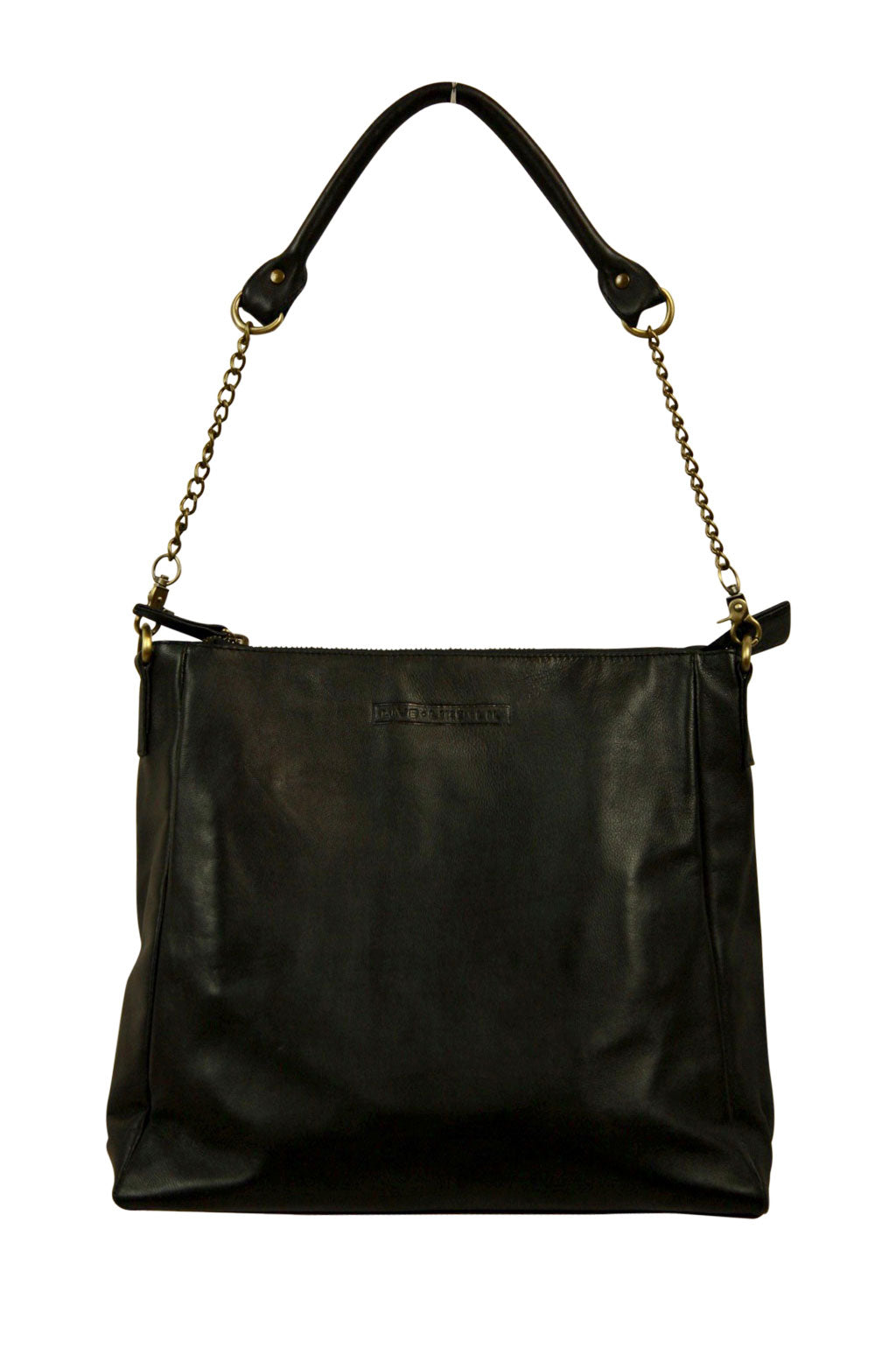 Ava Black Leather Front