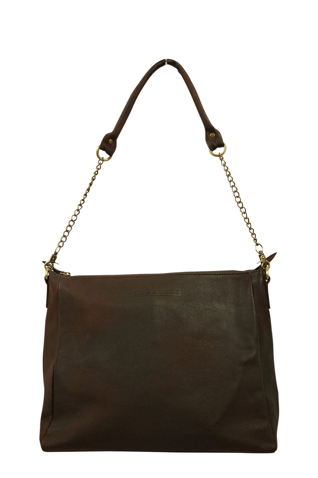 Celia Tobacco Leather Front