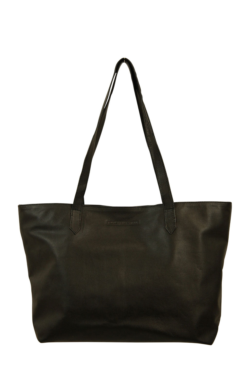 Florence Black Leather Front