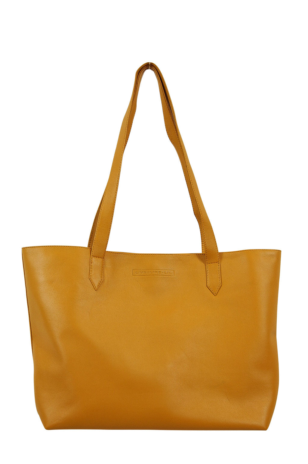 Florence Mustard Leather Front